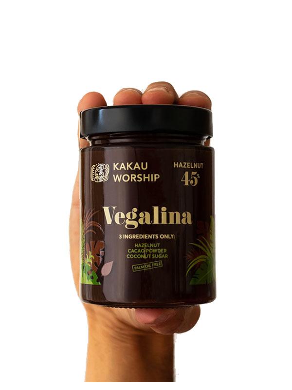 Vegalina – Βιολογική Πραλίνα Φουντουκιού σε βάζο