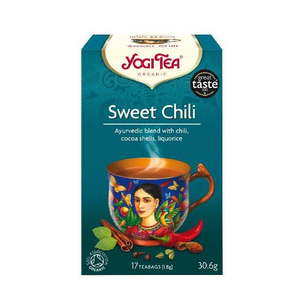 Yogi Tea Sweet Chili σε χάρτινο κουτί