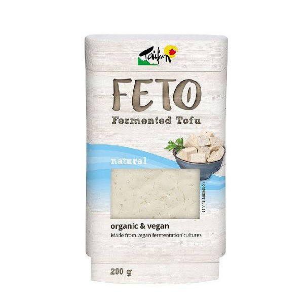 Τόφου Feto σε πλαστική συσκευασία