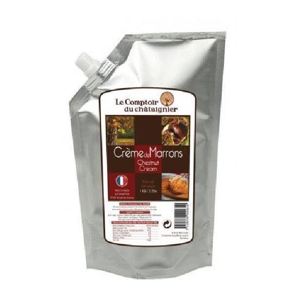 Κρέμα Κάστανου 1kg σε ειδική συσκευασία αλουμινίου