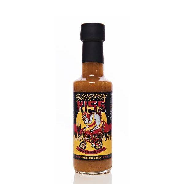 Sauce Ροδάκινου με Καυτερή Πιπεριά σε μπουκαλάκι
