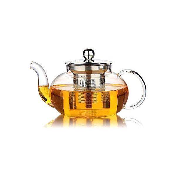 Γυάλινη Τσαγιέρα με τσάι