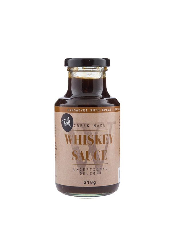 Whiskey Sauce σε μπουκάλι