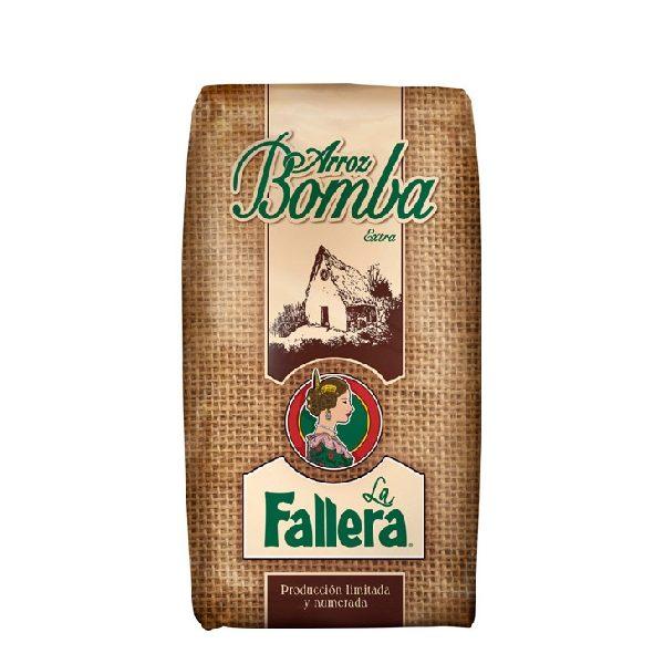 Ρύζι Arroz Bomba για Παέγια σε καφετί, πλαστική συσκευασία