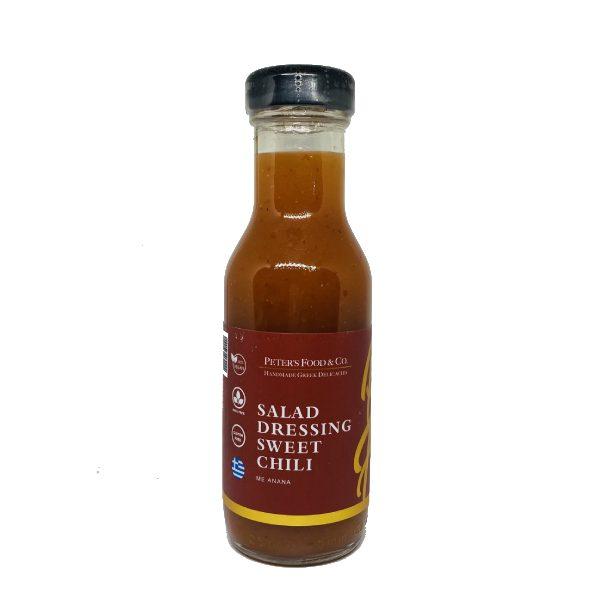 Salad Dressing Sweet Chili με Ανανά σε μπουκαλάκι