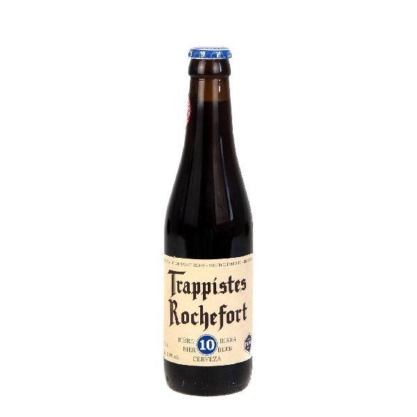 Μπύρα Trappistes Rochefort σε σκούρο μπουκάλι