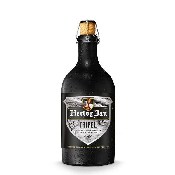 Μπύρα Hertog Jan Triple σε μαύρο κοντό μπουκαλάκι