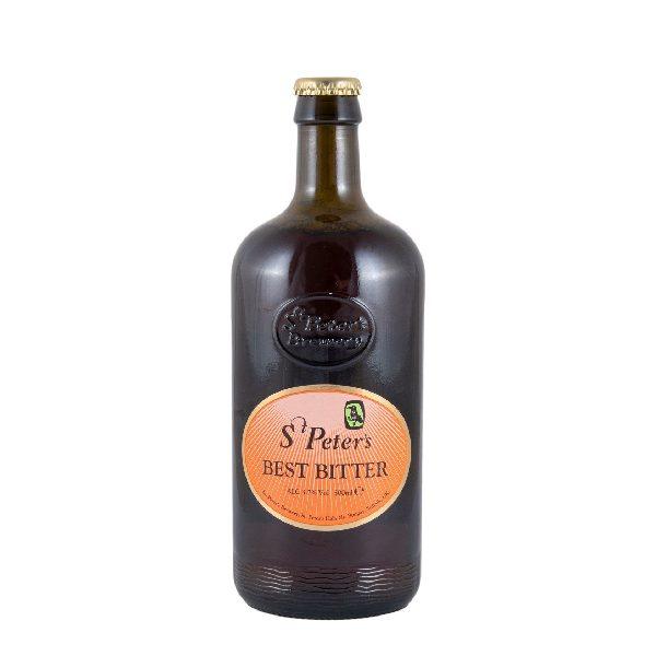 Μπύρα St Peters Best Bitter σε σκούρο μπουκάλι500ml