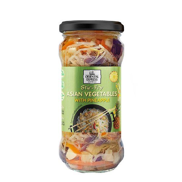 Μείγμα Ασιατικών Λαχανικών σε Άλμη σε βάζο