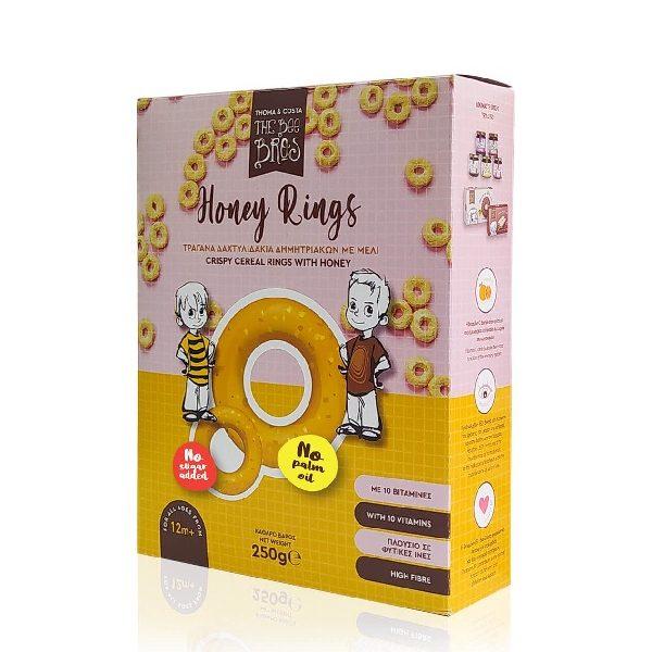 Τραγανά Δαχτυλιδάκια Μελιού σε χάρτινο κουτί