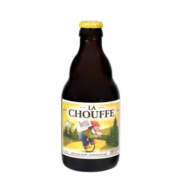 Μπύρα La Chouffe σε κοντό, γυάλινο μπουκαλάκι