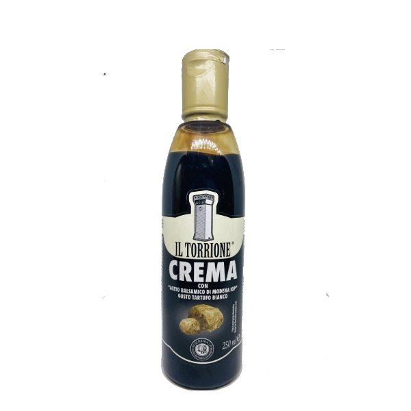 Κρέμα Βαλσάμικο με Άρωμα Λευκής Τρούφας σε πλαστικό μπουκαλάκι