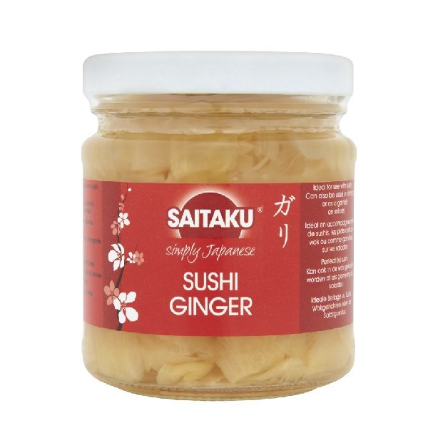 τζίντζερ για σούσι σε βάζο