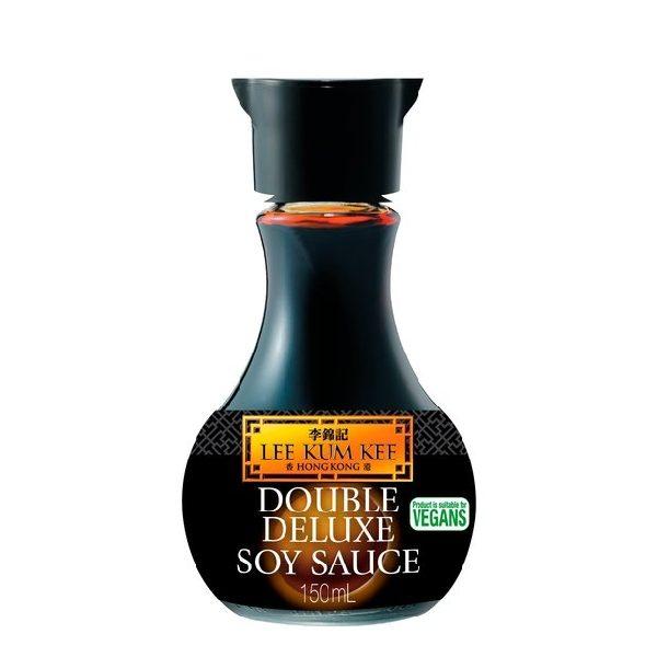 Σόγια Σως Double Deluxe σε μαύρο μπουκαλάκι