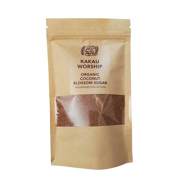 Βιολογική Ζάχαρη Καρύδας σε χάρτινη συσκευασία