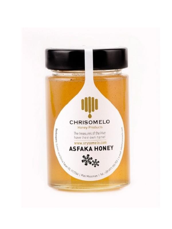 μέλι ασφάκας σε βάζο