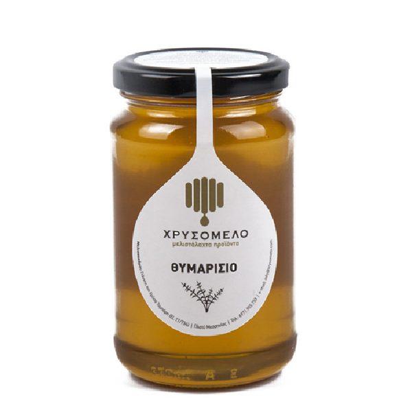 μέλι θυμαρίσιο σε βάζο