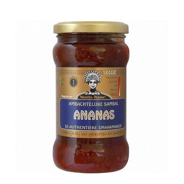 Σάλτσα Sambal με Ανανά σε βάζο
