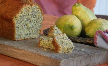 κέικ με παπαρουνόσπορο και λεμόνι
