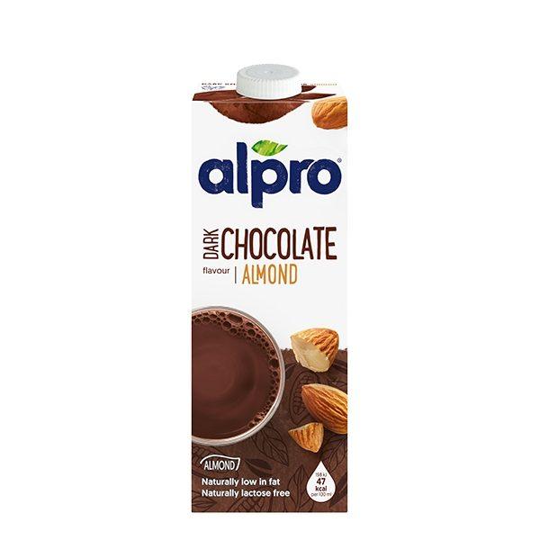ρόφημα αμυγδάλου με σοκολάτα σε κουτί