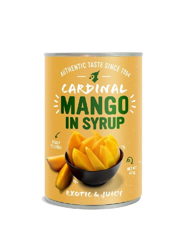 Έτοιμο Mango σε Σιρόπι σε κονσέρβα