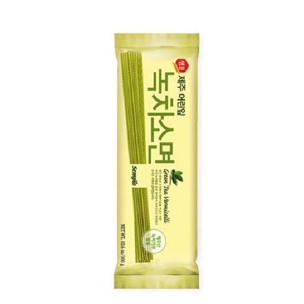 Green Tea Νούντλς Vermiceli σε συσκευασία