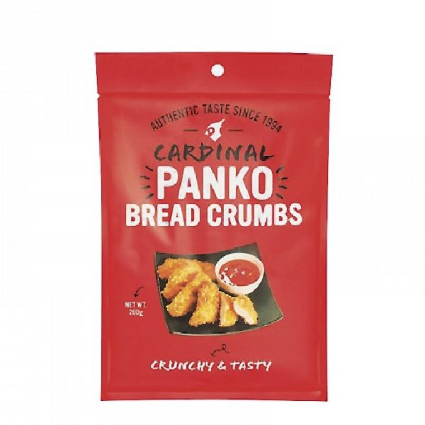 Panko Θρύμματα Ψωμιού σε κόκκινη συσεκυασία