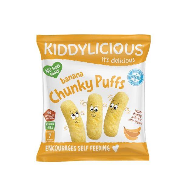 Παιδικά Σνακ Καλαμποκιού με Μπανάνα σε σακουλάκι