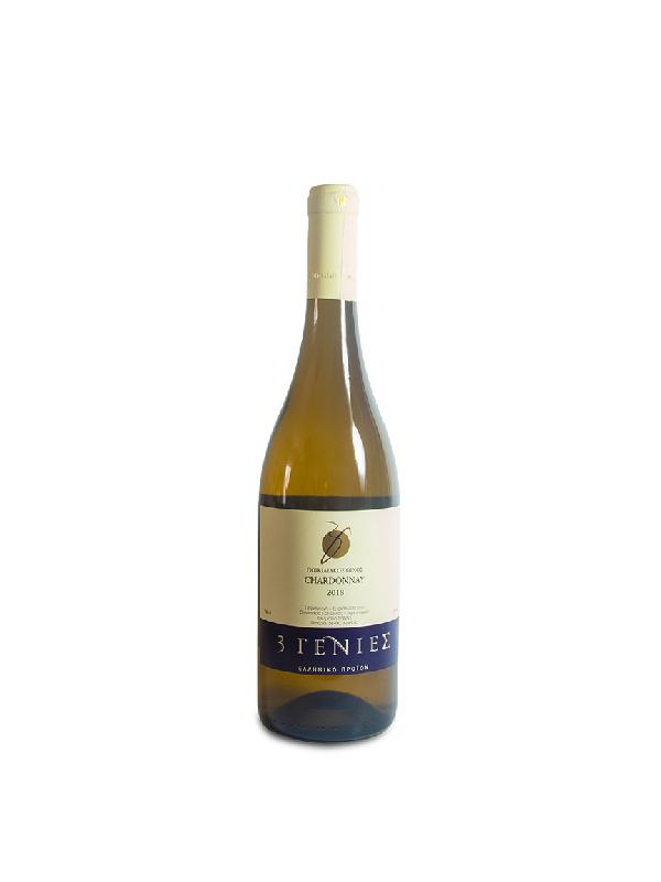 Chardonnay Λευκός οίνος σε μπουκάλι