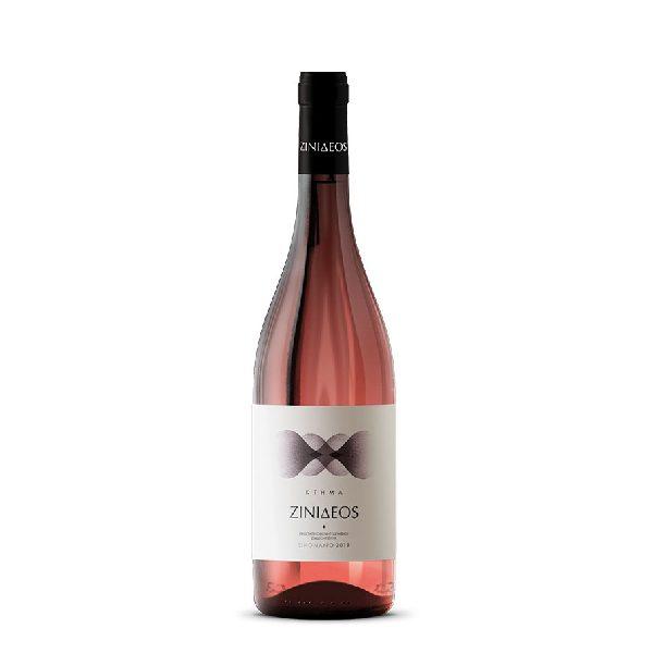 ξινόμαυρο ροζέ 2019 σε μπουκάλι