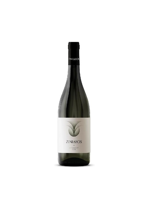 chardonnay λευκός ξηρός οίνος σε μπουκάλι