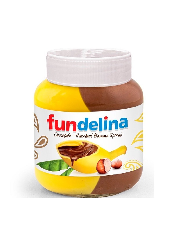 Πραλίνα Φουντουκιού με Μπανάνα σε βάζο