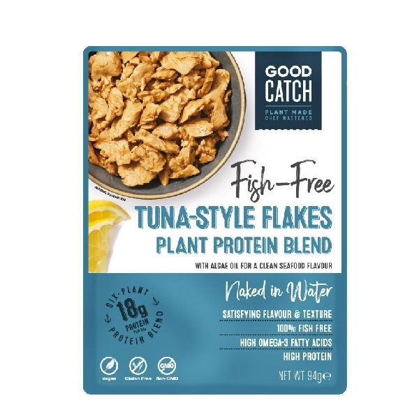 Vegan Τόνος Φυσική Γεύση της εταιρείας Good Catch