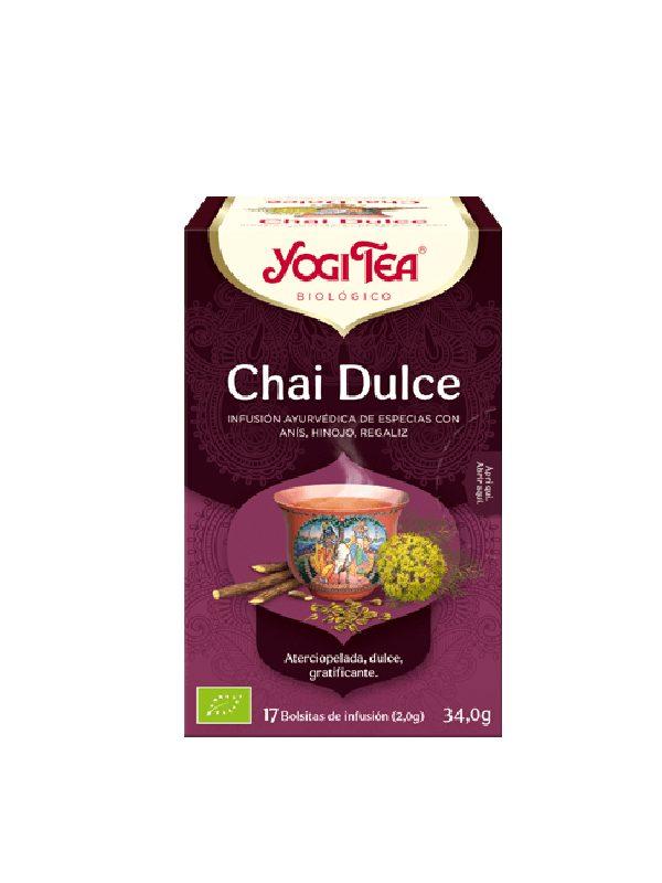 Βιολογικό Τσάι Sweet Chai Χωρίς Καφεΐνη σε χάρτινη- Yogi tea