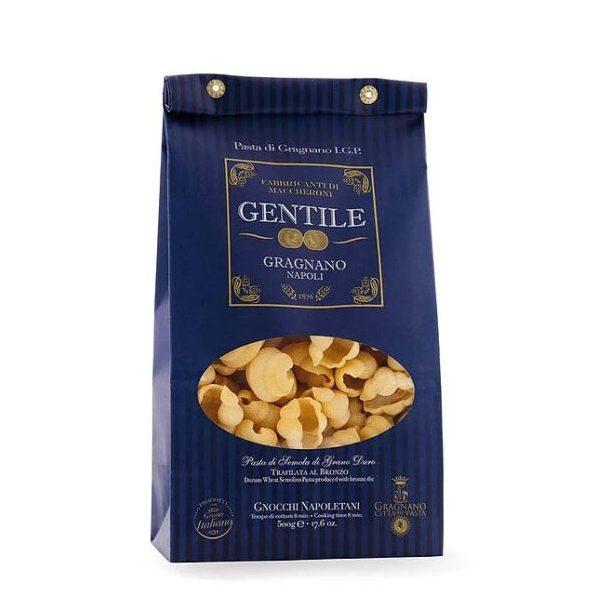 Ζυμαρικά Κοχύλια Gnocchi Napoletani 500gr - Gentile σε μπλε συσκευασία