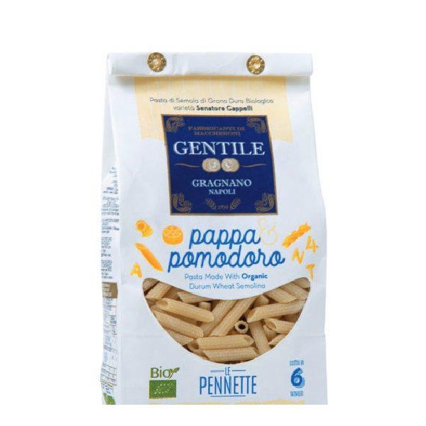 Bio Πέννες Le Pennette Rigate σε λευκή χάρτινη συσκευασία